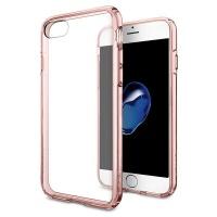 spigen iphone 7 ultra hybrid case rose crystal