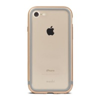 moshi iglaze luxe case for iphone 7 satin gold