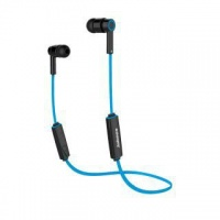 jabees bluetooth sports earphones blue