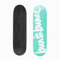 bunbunee signature deck teal skateboarding