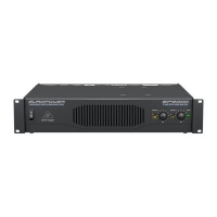 behringer ep2000 professional stereo power amplifier