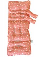 pramskinz liner pink galaxy car seat