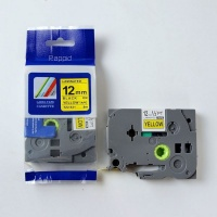 brother rappid tz 631 label tape cartridge laminated 12mm office machine
