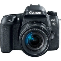 canon 77d 242mp dslr camera with 18 55mm lens black