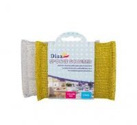 bulk pack 15 x sponge scourers of 2 pieces bathroom accessory