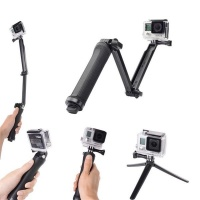 Mix Box 3 Way Adjustable Bracket Hand Grip Arm Camera Mount for GoPro Hero