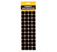 bulk pack 10 x protection pads black adhesive 2 2cm 44 art supply
