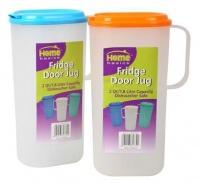 bulk pack 4 x home fridge door jug 18l food preparation