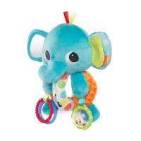 Bright Starts Explore Cuddle Elephant