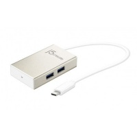 j5 create jch343 u31 type c 4x t a usb charger