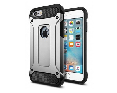 Photo of Shockproof Armor Hard Protective Case For Iphone 6 Plus/6S Plus - Silver