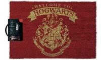 Harry Potter Welcome To Hogwarts Door Mat