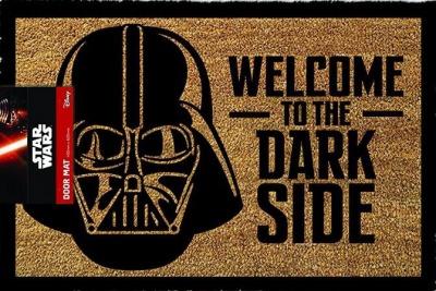 Star Wars Welcome To The Darkside Door Mat