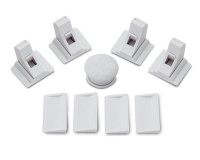 safety baby magnetic cabinet locks 4 and 1 key lock