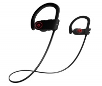 wireless noise isolating sports headphone mic cell phone headset