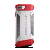 elementcase cfx case for iphone 7 plus white and red