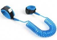 iconix kids safety harness anti lost wrist leash blue