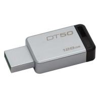 kingston usb 30 datatraveler metalblack 128gb