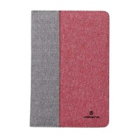 volkano shield series 7 8 tablet cover grey and red