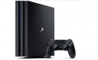 play station 4 pro ps4 game console black 1tb