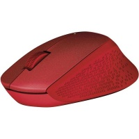 logitech m330 silent plus wireless mouse red