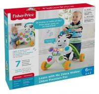 fisher price learn with me zebra walker walker