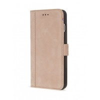 decoded leather wallet case with magnet closure for iphone