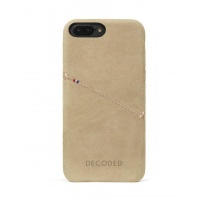 Decoded Leather Back Cover for iPhone 7 Plus6s Plus6 Plus Sahara