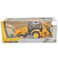 Ideal Toy Builders Friction Construction Truck