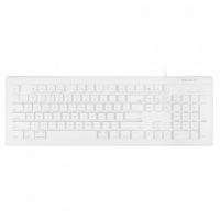 macally full size usb c keyboard white