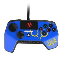 madcatz arcade fightpad pro controller ps3ps4 blue
