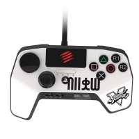 madcatz arcade fightpad pro controller ps3ps4 white