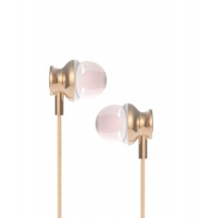 langsdom m430 in headphones gold cell phone headset