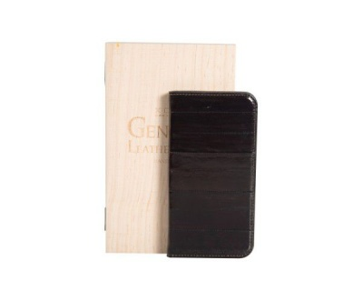 Photo of X One X-ONE Luxurious Genuine Eel Leather Phone Cover for iPhone 6 Plus - Brown
