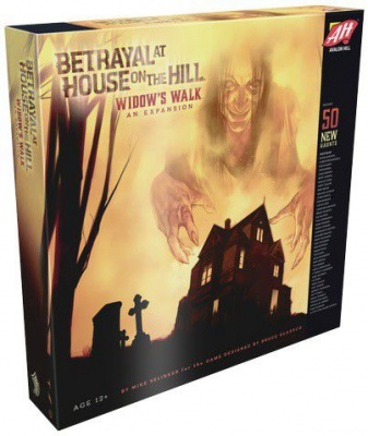 Photo of Betrayal At House On The Hill Boardgame - AVH -Betrayal @House on the Hill:Widow's Walk Ex