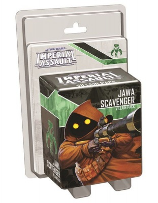 Star Wars Imperial Assault Jawa Scavenger Villian pack