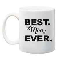 qtees africa best mom ever printed mug white