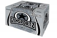 gi sportz 1 star recreational paintballs 68cal yellow fill pods bag