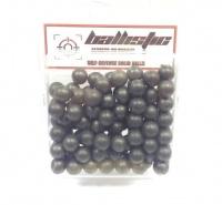 ballistic self defence solid balls 100 pack pods bag
