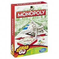 Hasbro Monopoly Grab Go Game