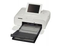 canon selphy cp1300 photo printer white