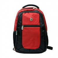 volkano jet series laptop backpack red and black