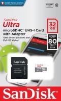 SanDisk 32GB Ultra Micro UHS I SDHC C10