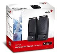 genius sp u120 usb speaker black