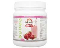 manna health low gi meal replacement strawberry shake meal replacement