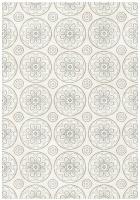 rugs original flower shape opus cream home decor