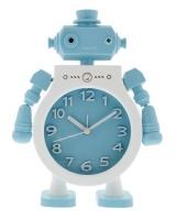 nipper tots robo table clock blue
