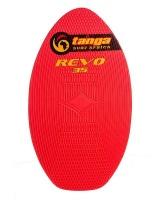tanga revo 35 inch skimboard red surfing