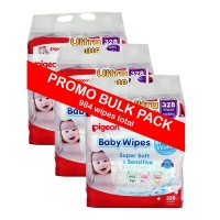 pigeon baby wipes 82s refill bulk pack wipe