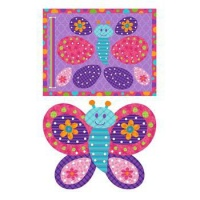 Stephen Joseph Lacing Card Puzzle Butterfly